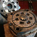 Хидромотор верижен багер Case