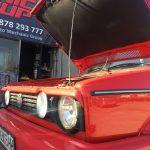 WV Golf MK1 Cabrio ремонт на електрически хидравличен гюрук