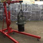 Ремонт на редуктор за грайфер 12 тона