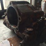 Възстановяване на секторна кормилна кутия от снегорин Мерцедес